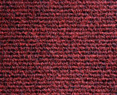 Heckmondwike, Broadrib, Claret, Carpet Tile