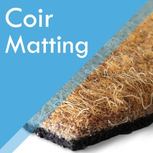 Coir matting and entrance matting at Surefit Carpets Leeds