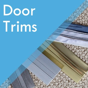 Door trims at Surefit Carpets Chesterfield