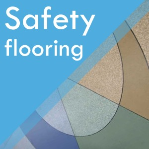 Safety flooring at Surefit Carpets Leeds