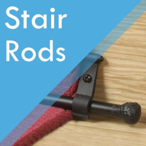 Stair Rods at Surefit Carpets Huddersfield