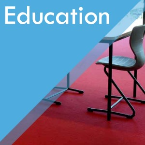 Education, Schools, Colleges and Universities contract services at Surefit Carpets Wakefield