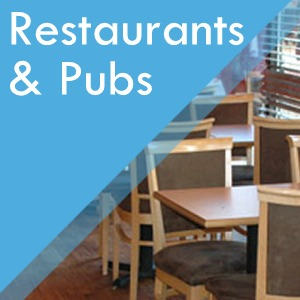 Restaurant and Pub flooring contract services at Surefit Carpets Chesterfield