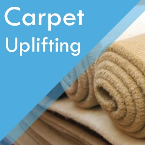 Carpet uplifting service at Surefit Carpets Retford