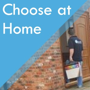 Choose at home service at Surefit Carpets Chesterfield