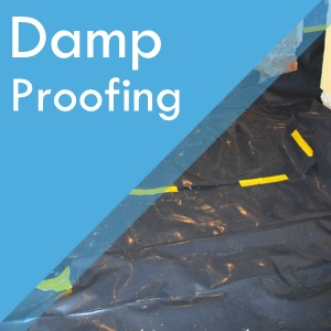 Damp proofing service at Surefit Carpets Retford