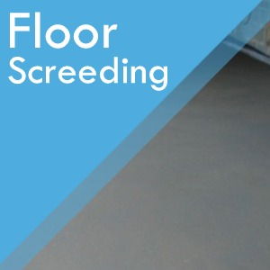 Floor Screeding services at Surefit Carpets Chesterfield