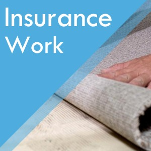Insurance work service at Surefit Carpets Retford