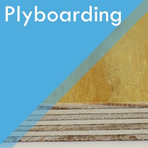 Plyboarding service at Surefit Carpets Chesterfield