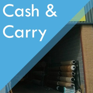 Warehouse cash and carry at Surefit Carpets Leeds